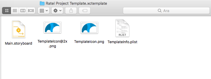 Xcode Simple View App Template
